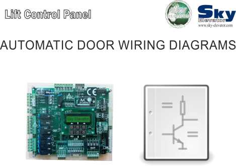 sky elevator other products review · automatic door wiring diagrams